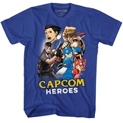 Capcom Mens Cartoonmash T-Shirt