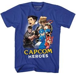 Capcom Mens Cartoonmash T-Shirt