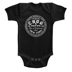 CBGB Unisex-Baby Cbgbcircle Onesie