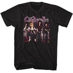Cinderella Mens Band Stands T-Shirt
