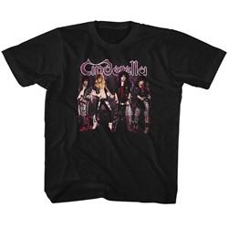 Cinderella Unisex-Child Band Stands T-Shirt