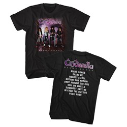 Cinderella Mens Night Songs Album T-Shirt