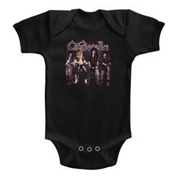 Cinderella Unisex-Baby Band Stands Onesie