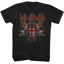 Def Leppard Mens Defcrest T-Shirt