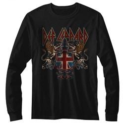Def Leppard Mens Defcrest Long Sleeve T-Shirt