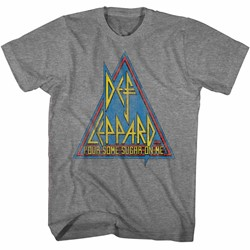Def Leppard Mens Primary Triangle T-Shirt