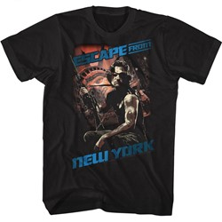 Escape From New York Mens Snake T-Shirt