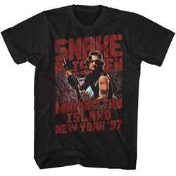 Escape From New York Mens Snakeyp T-Shirt