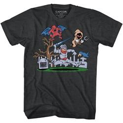 Ghost'n Goblins Mens Graveyard T-Shirt