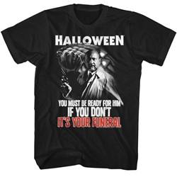 Halloween Mens Your Funeral T-Shirt
