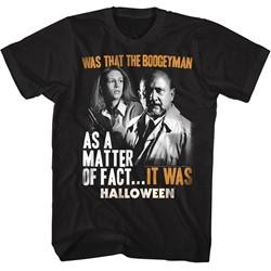 Halloween Mens It Was T-Shirt