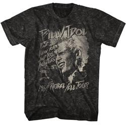 Billy Idol Mens Blondie T-Shirt