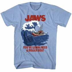 Jaws Mens Swell Text T-Shirt