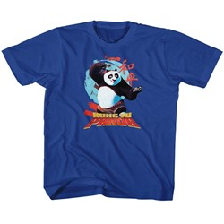 Kung Fu Panda Unisex-Child Circle Symbols T-Shirt