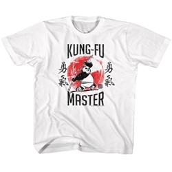 Kung Fu Panda Unisex-Child Kung-Fu Master T-Shirt