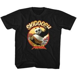 Kung Fu Panda Unisex-Child Skidoosh T-Shirt