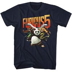 Kung Fu Panda Mens Furious 5 T-Shirt