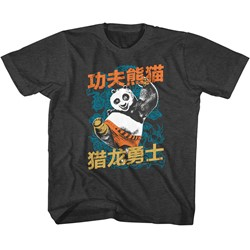 Kung Fu Panda Unisex-Child Dragonwarrior T-Shirt