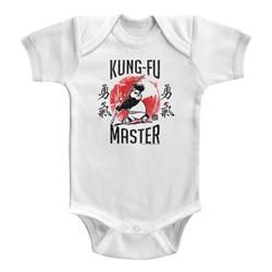 Kung Fu Panda Unisex-Baby Kung-Fu Master Onesie