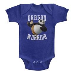 Kung Fu Panda Unisex-Baby D-Warrior Onesie