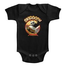 Kung Fu Panda Unisex-Baby Skidoosh Onesie