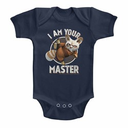Kung Fu Panda Unisex-Baby Master Onesie