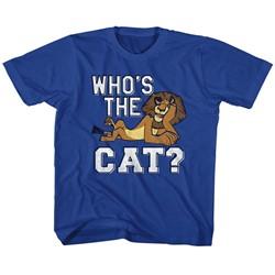Madagascar Unisex-Child The Cat T-Shirt