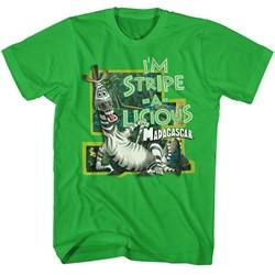Madagascar Mens Stripe-A-Licious T-Shirt