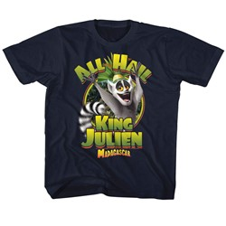 Madagascar Unisex-Child King Julien T-Shirt