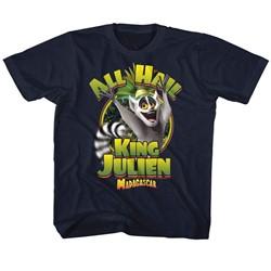 Madagascar Unisex-Child King Julien T-Shirt