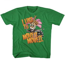 Madagascar Unisex-Child Mov Ite Move It T-Shirt