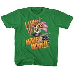 Madagascar Unisex-Child Mov Ite Move It T-Shirt