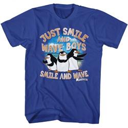 Madagascar Mens Just Smile T-Shirt