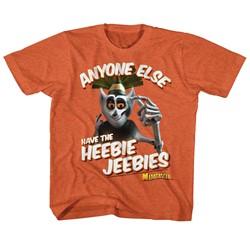 Madagascar Unisex-Child Heebie Jeebie T-Shirt