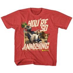 Madagascar Unisex-Child Annoying T-Shirt
