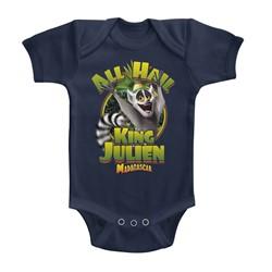 Madagascar Unisex-Baby King Julien Onesie