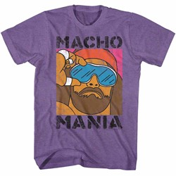 Macho Man Mens Mania T-Shirt