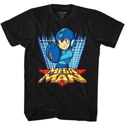 Mega Man Mens Megagrid T-Shirt