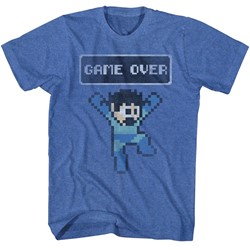 Mega Man Mens Game Over T-Shirt