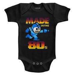 Mega Man Unisex-Baby Madeinthe80S Onesie