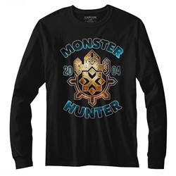 Monster Hunters Mens Monsterhunter Long Sleeve T-Shirt