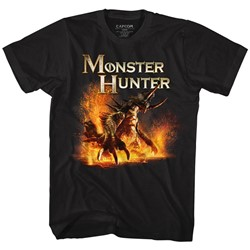 Monster Hunters Mens Beast T-Shirt