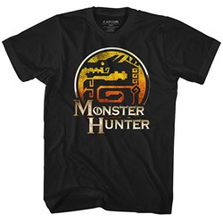Monster Hunters Mens Mh T-Shirt
