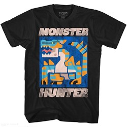 Monster Hunters Mens Scray T-Shirt