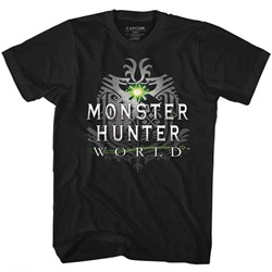 Monster Hunters Mens Mhw Logo T-Shirt