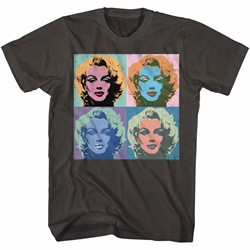 Marilyn Monroe Mens Warhead-4 T-Shirt