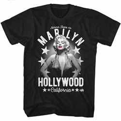 Marilyn Monroe Mens Arched Text T-Shirt