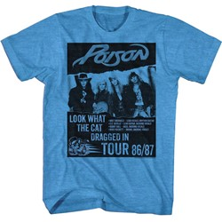 Poison Mens Look What Tour T-Shirt