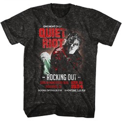 Quiet Riot Mens Rocking Out 2 T-Shirt