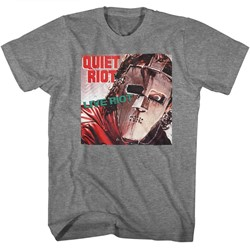 Quiet Riot Mens Live Riot2 T-Shirt